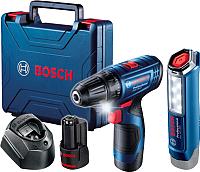 Профессиональный шуруповерт Bosch GSR 120-Li (0.601.9G8.004) -