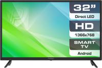 Телевизор Prestigio Top 32 / PTV32SS04Z (черный) -