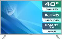 Телевизор Prestigio Top 40 / PTV40SS04Y (серебристый) -