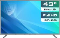 Телевизор Prestigio Mate 43 / PTV43SN04Y (серебристый) -