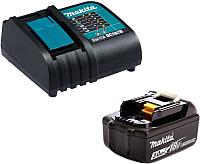 Набор аккумуляторов для электроинструмента Makita BL1830B с зарядным DC18SD (191A23-6) -