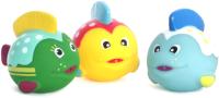Набор игрушек для ванной Пома Красное море / 50419 (3шт) -