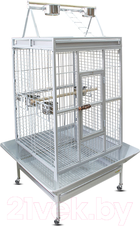 Купить Клетка для птиц Triol, BC18W / 50691064 (белый), Россия