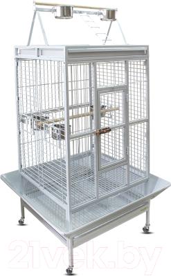 Клетка для птиц Triol BC18W / 50691064 (белый)