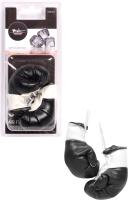 Ароматизатор автомобильный Airline Боксерские перчатки / AFB0205 (черный лед) -