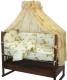 Комплект в кроватку Топотушки Жираф Вилли / 650М/3 (желтый) -