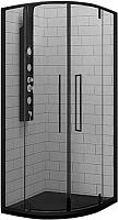 Душевой уголок RGW SV-53 B / 06325300-14 (черный/прозрачное стекло) -