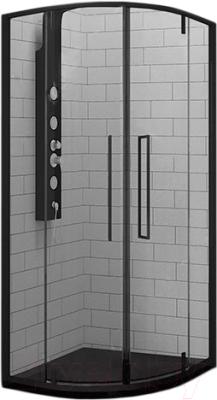 Душевой уголок RGW SV-53 B / 06325300-14 (черный/прозрачное стекло)