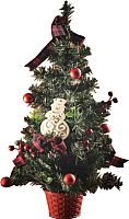 Ель искусственная Merry Bear Настольная украшенная с шишками E10-18A1494B-2 (0.5м) -