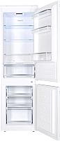 Встраиваемый холодильник Maunfeld MBF177SW -