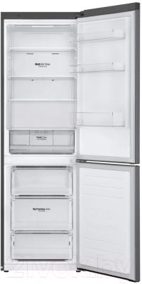 Холодильник с морозильником LG GA-B459SLKL