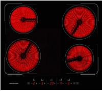 Электрическая варочная панель Normann BHC-6410A.BK -