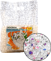 Наполнитель для туалета BioClean Силикагелевый (8л) -