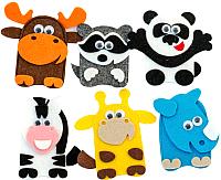 Набор пальчиковых кукол Smile Decor Зоопарк / Ф112 -