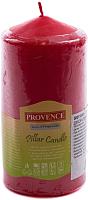 Свеча Белбогемия Provence 560113/41 / 14559 (красный) -