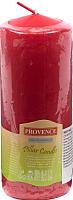 Свеча Белбогемия Provence 560114/41 / 14017 (красный) -
