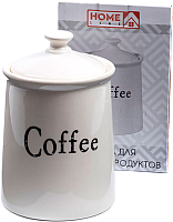 Емкость для хранения Home Line Coffee / HC1810066-6.5C -