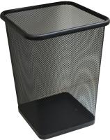 Корзина для бумаг Merida Квадрат KIC102 (10л, черный) -