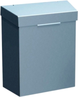 Мусорное ведро Merida KSP301 (металл полированный) -