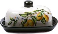 Масленка Home Line Лимоны HC602-6101R-Q51 -