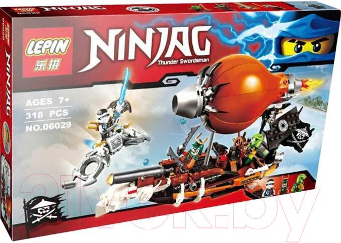 Купить Конструктор Lepin, NinjaGo Дирижабль-штурмовик / 06029, Китай, пластик