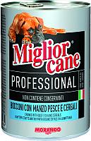 Корм для собак Miglior Cane Professional Meat&Fish (405г) -