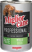 Корм для собак Miglior Cane Professional Pate Veal (400г) -
