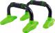 Упоры для отжимания Starfit Классические BA-302 (черный/зеленый) -