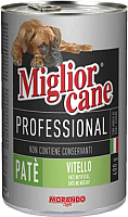 Корм для кошек Miglior Gatto Professional Pate Veal (400г) -