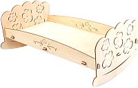 Сборная игрушка POLLY Кроватка для пупсов -