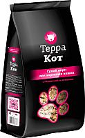 Корм для кошек ТерраКот С говядиной и овощами TRK003 (0.4кг) -
