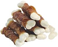 Лакомство для собак Triol Кальцинированные косточки с уткой / 10171043 (450г) -