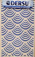 Коврик для ванной Dersu Cotton Bathmats PB033 (60x90, синий) -