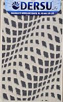 Коврик для ванной Dersu Cotton Bathmats PB037 (60x90, темно-серый) -