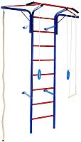 Детский спортивный комплекс Absolute Champion Альпинистик Самолет (синий/красный) -