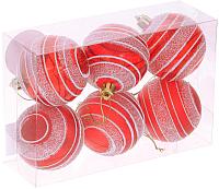 Набор шаров новогодних Белбогемия 10856688 / 79970 (6шт) -
