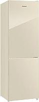 Холодильник с морозильником Maunfeld MFF 185NFBG -