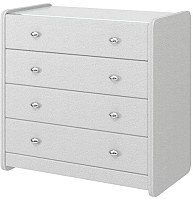 Комод Bravo Мебель №1 (белый) -