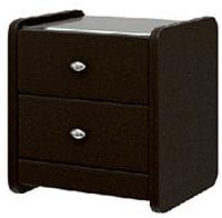 Прикроватная тумба Bravo Мебель №1 (коричневый) -