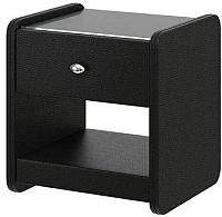 Прикроватная тумба Bravo Мебель №2 (черный) -