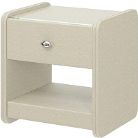 Прикроватная тумба Bravo Мебель №2 (белый) -