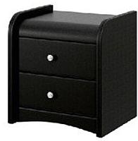 Прикроватная тумба Bravo Мебель №3 (черный) -
