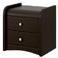 Прикроватная тумба Bravo Мебель №3 (коричневый) -