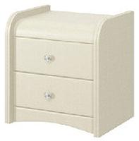 Прикроватная тумба Bravo Мебель №3 (белый) -