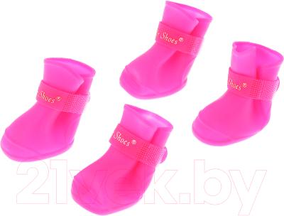 Сапожки для собак Triol YXS200-M / 12241103 (розовый)