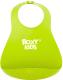 Нагрудник детский Roxy-Kids Мягкий / RB-402G (зеленый) -