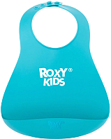 Нагрудник детский Roxy-Kids Мягкий / RB-402М (мятный) -