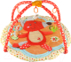 Развивающий коврик Roxy-Kids Лисичка и ее друзья с дугами / RPM-3311С -