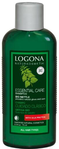 Купить Шампунь для волос Logona, с экстрактом крапивы для базового ухода за волосами (75мл), Германия