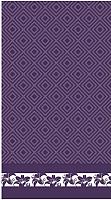 Полотенце Нордтекс Волшебная ночь 70x140 (баклажан) -